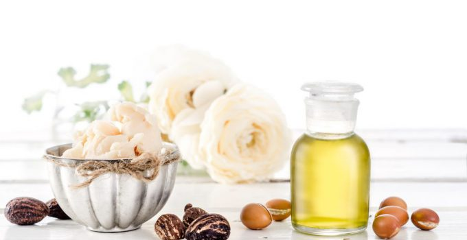 cosmetic butter and hair oil